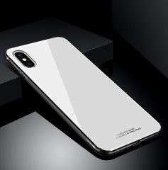 "Скляний чохол (Glass Case) на iPhone 7/8 Plus (5.5"") white"