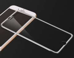 "Захисне скло 3D Tempered Glass для iPhone 7/8 (4.7"") front / silver"
