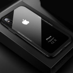 "Чохол скляний (Tempered Glass Case) для iPhone 7/8 (4.7"") black"