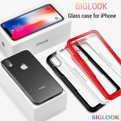 "Чохол скляний (Tempered Glass Case) для iPhone 6/6S (4.7"") red"