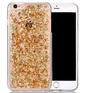 "Чохол cиліконовий (shimmering) для iPhone Plus 6/6S (5.5"") gold"