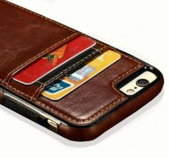 "Чохол Leather PU+TPU для 7/8 Plus (5,5"") brown"