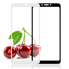 "Захисне скло (переднє) Silk Screen Xiaomi Redmi 6/6A (5.45"") front / white"