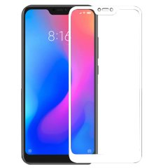 "Захисне скло (переднє) Silk Screen Xiaomi Redmi 6 Pro (5.84"") front / white"