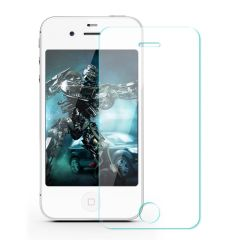 Защитное стекло 2.5D 0.3mm (переднее) Tempered Glass для iPhone 4/4S front / transparent