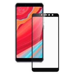 "Захисне скло (переднє) Silk Screen Xiaomi Redmi S2 / Y2 (5.99"") front / black"