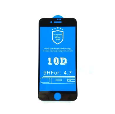 0f394bc9822768 Захисне скло 10D (переднє) iPhone 7/8 (4.7'') front / black ...