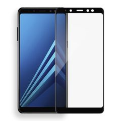 "Захисне скло (переднє) для Silk Screen Samsung Galaxy A8 Plus (2018) / A730 (6.0"") front / black"